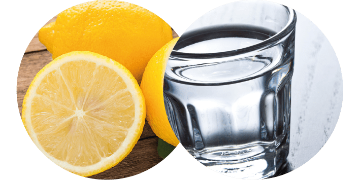 Limone e vodka